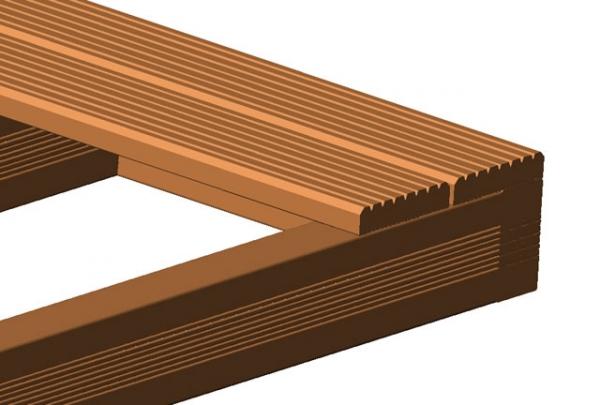 terrassentrend unterkonstruktion bangkirai 90 x 90 mm breitseiten fein geriff. Black Bedroom Furniture Sets. Home Design Ideas