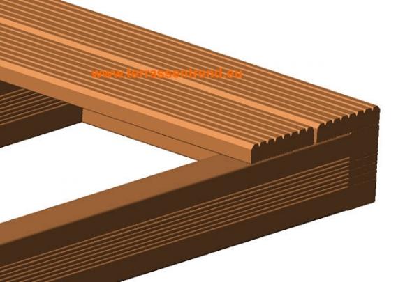 terrassentrend unterkonstruktion bangkirai 45 x 70 mm. Black Bedroom Furniture Sets. Home Design Ideas